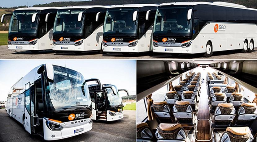 ddef8e7c3 Zájazdová doprava SAD Prievidza privítala vo svojej flotile 4 nové autobusy  SETRA